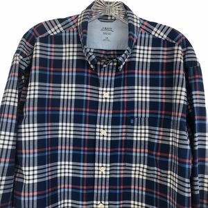 Izod Saltwater men's dress shirt Lg. 100% cotton
